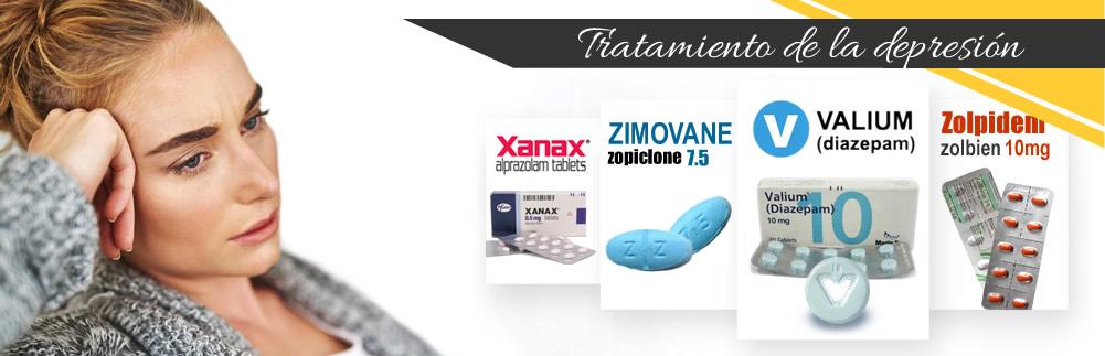 Tratamiento de la depresión - valium diazepam zimovane zolpidem